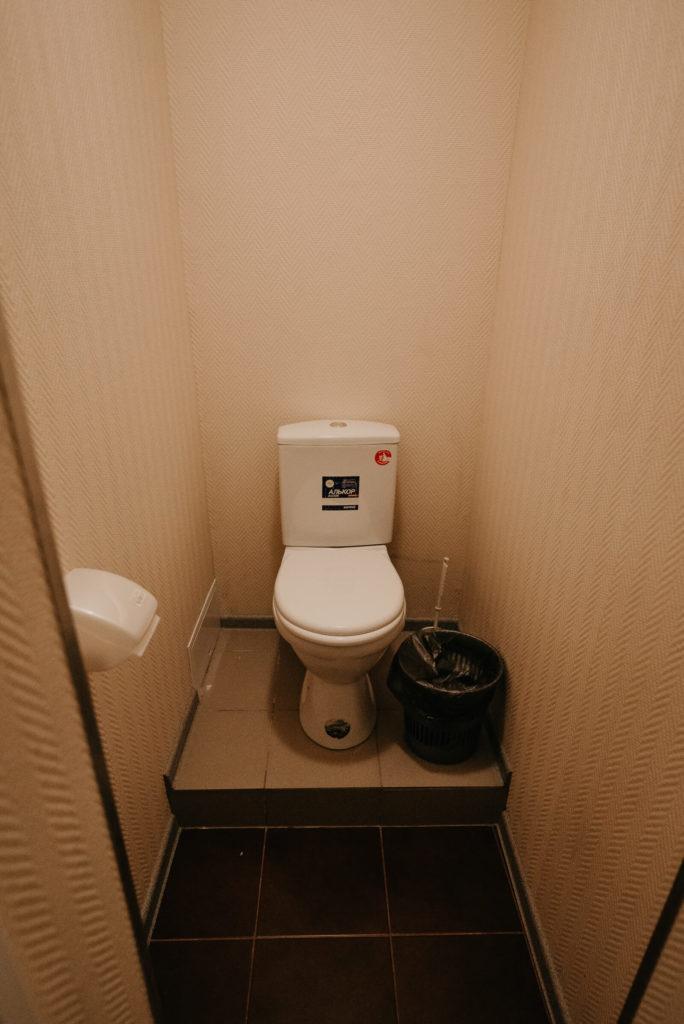 "Гостиница ""Винтаж"". Туалет в 2-комнатном номере"