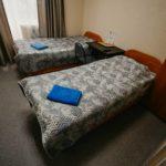 "Гостиница ""Винтаж"", номер с двумя кроватями. В номере балкон, душ, туалет, ТВ, Wi-Fi."