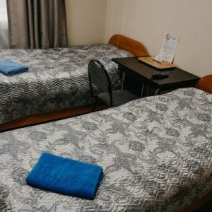 2-местный номер с двумя кроватями